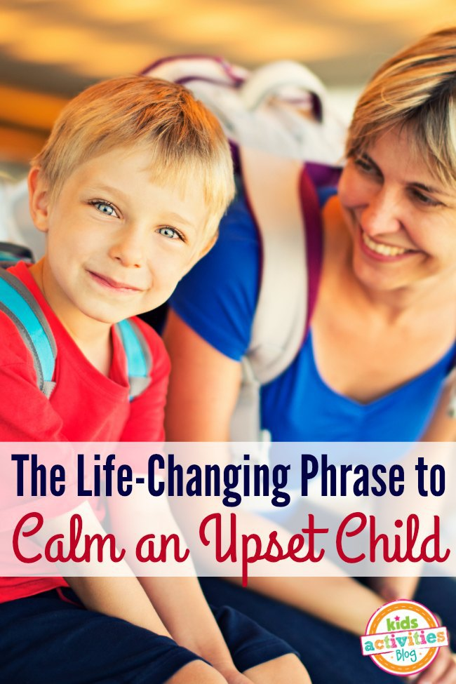 How do you calm an upset child? This idea is so perfect. It worked amazing to calm our child in just about any situation