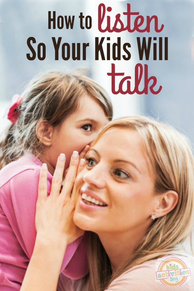 Got children who are quiet? Here is how you can be a good listener so your children will open up and share their hearts with you.