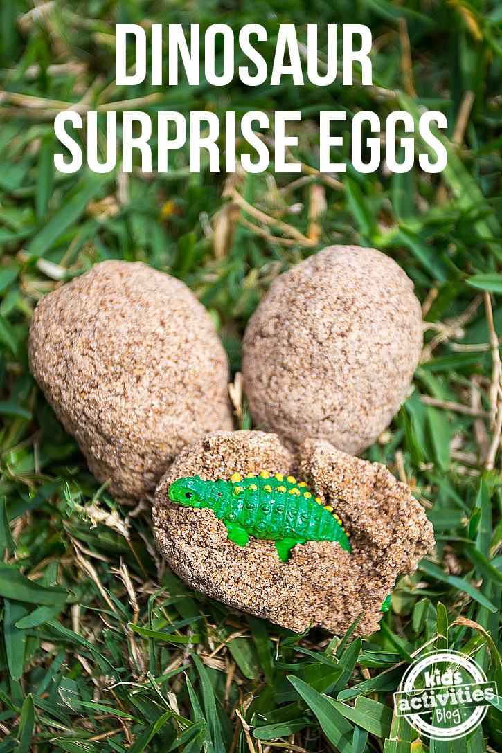 Dinosaur Surprise Eggs