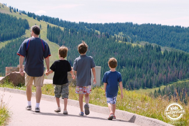 Family Adventure in Mountains