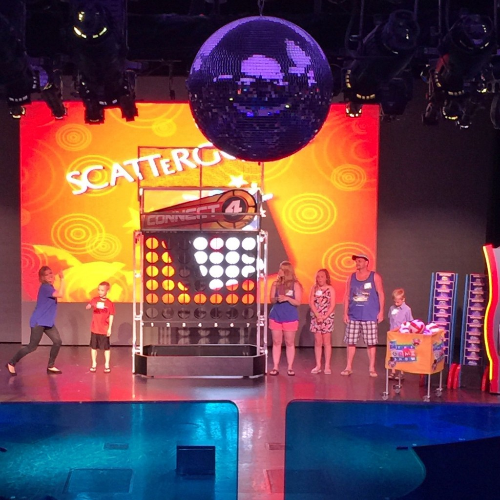 Carnival's Hasbro The game Show