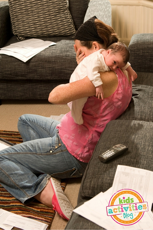 Help for a Discouraged Mom