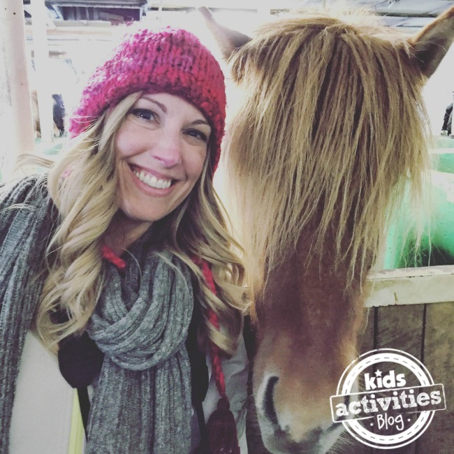 Jenny On The Spot and an Icelandic Horse
