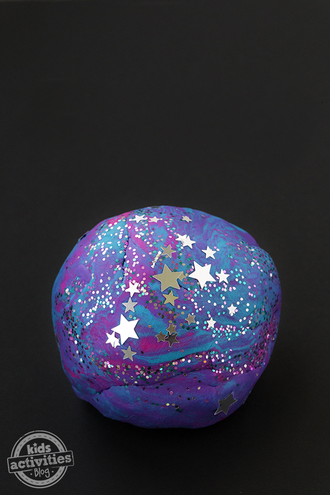 Galaxy Playdough