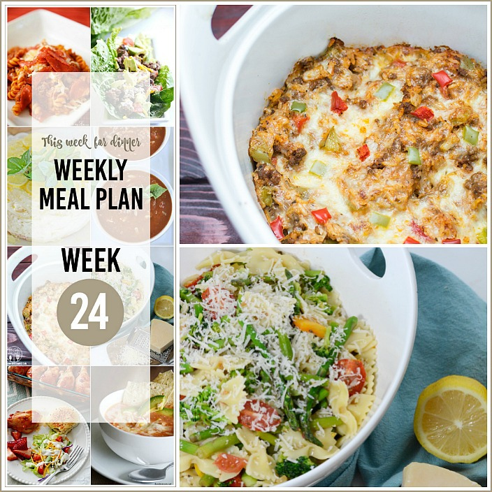 Weekly Meal Plan Recipe 24 the36thavenue.com