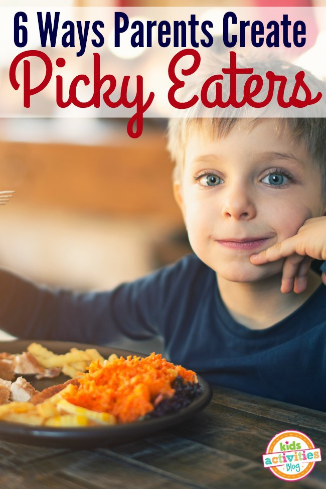 Do you make these mistakes with your picky eater? Here are 6 ways to stop picky eating.