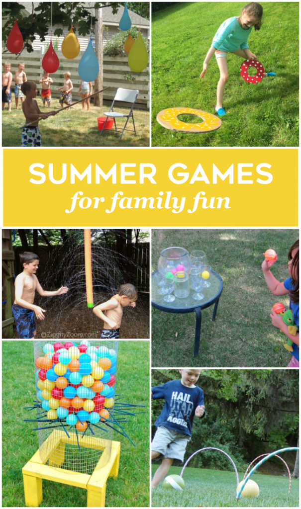 24 Summer Games for Family Fun