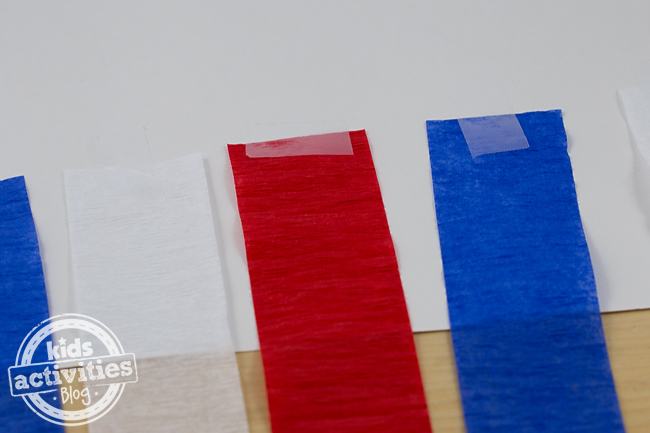 Patriotic Paper Windsock