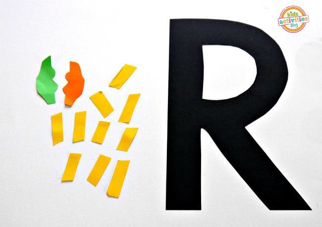 letter R craft supplies