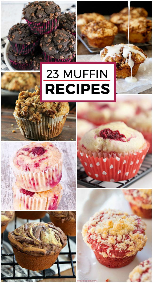 23 Crazy Cool Muffin Recipes