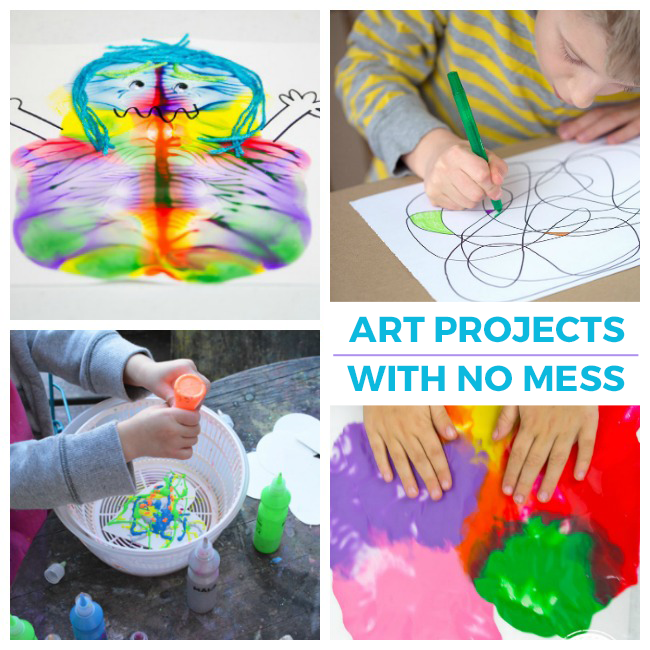 13 No-Mess Activities for Kids