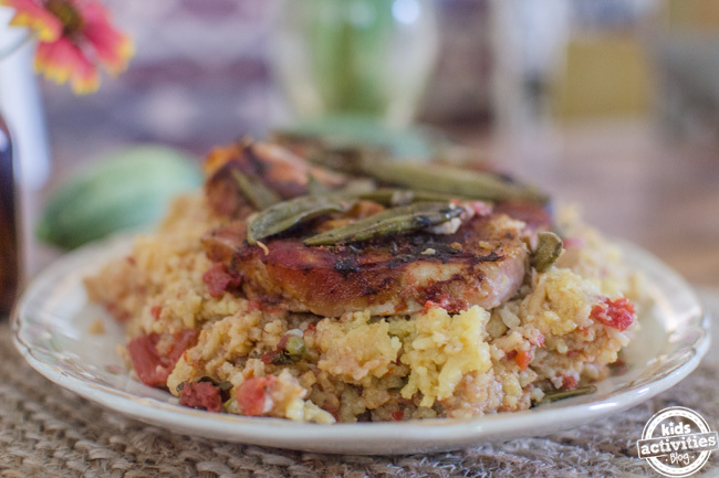 pork chops spanish rice 11