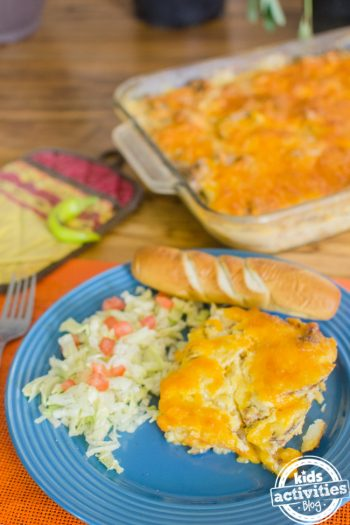hamburger scalloped potatoes
