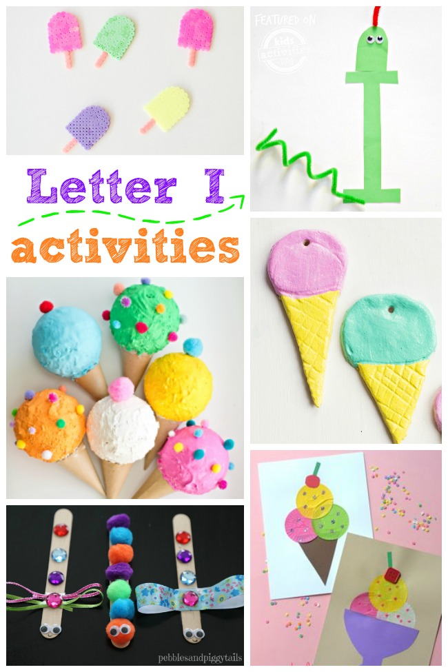 15 Letter I Crafts & Activities