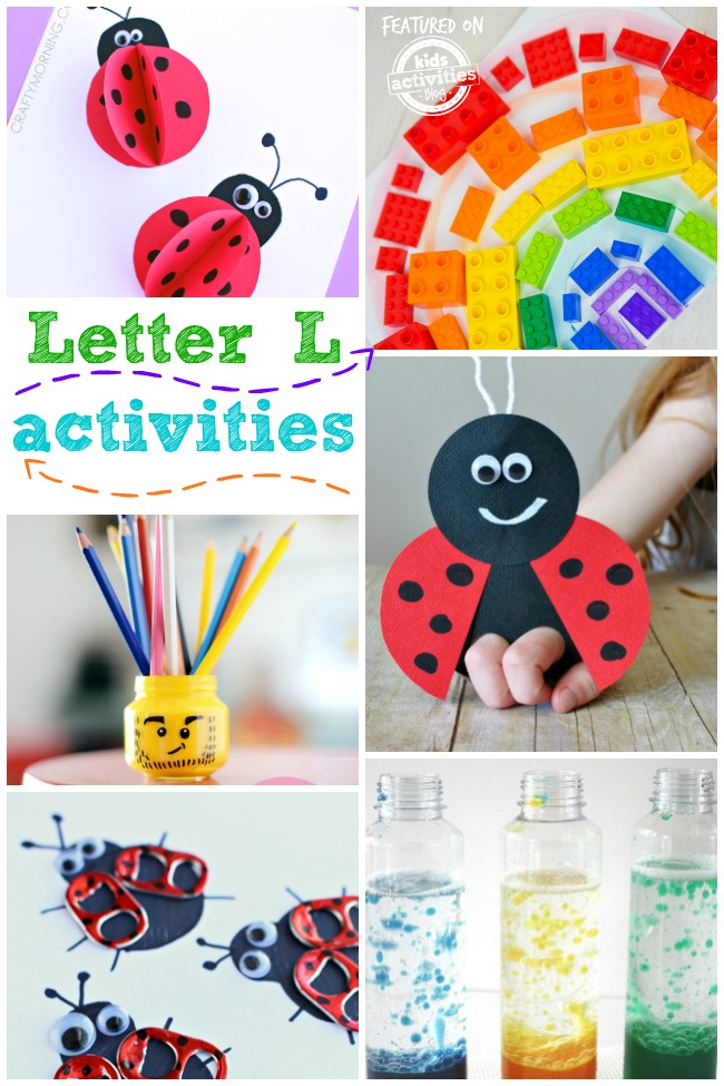 15 Letter L Crafts and activities