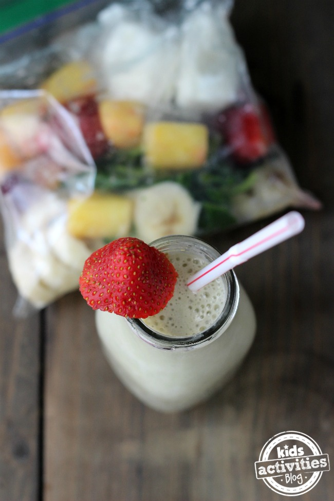 Frozen Fruit Smoothie