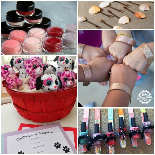 Girls Party Favors