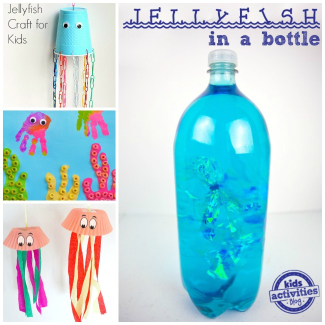 Letter J Activities Jellyfish
