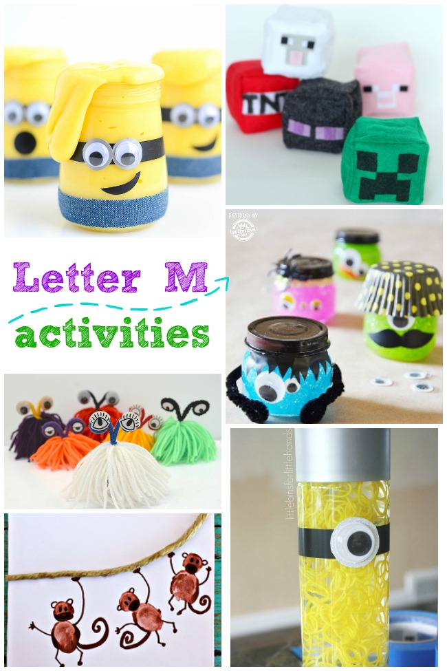 Letter M Activities and Crafts