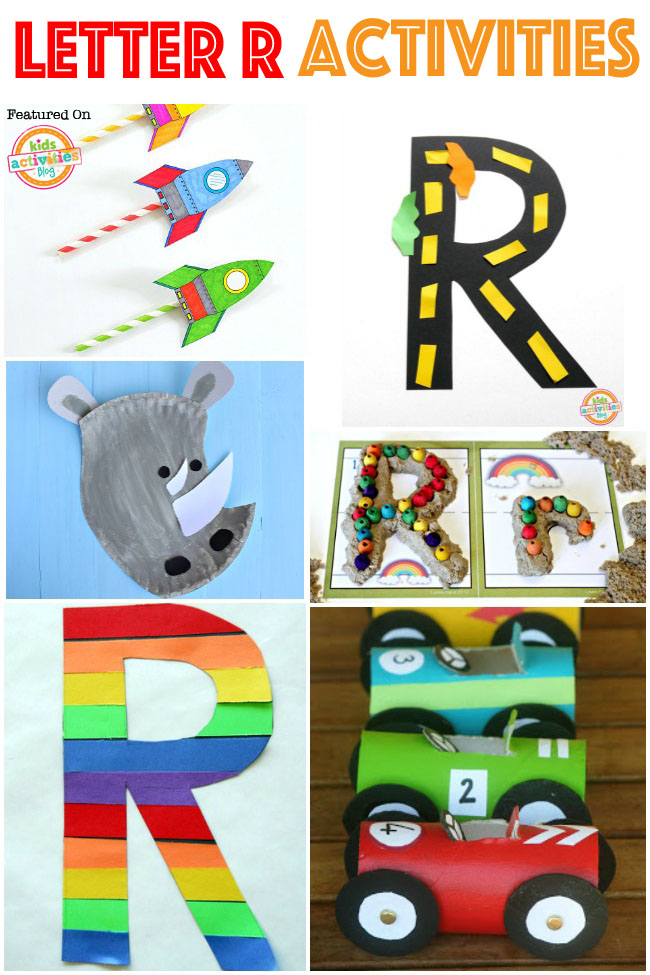 Letter R Crafts & Activities