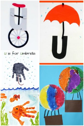 Letter U Activities and Crafts