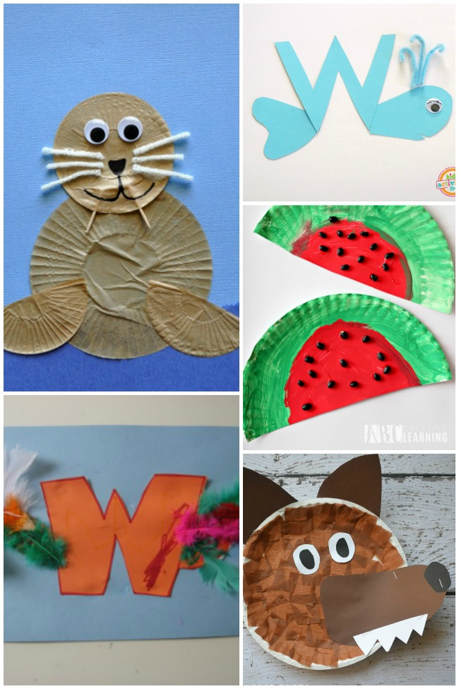 13 Wonderful Letter W Crafts & Activities