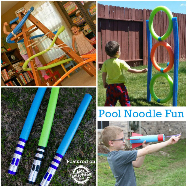 21 Ways To Play With Pool Noodles This Summer