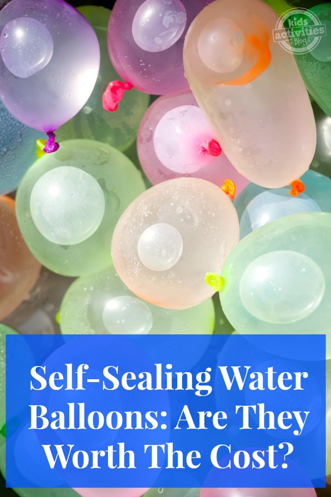 Self-Sealing Water Balloons Are They Worth The Cost