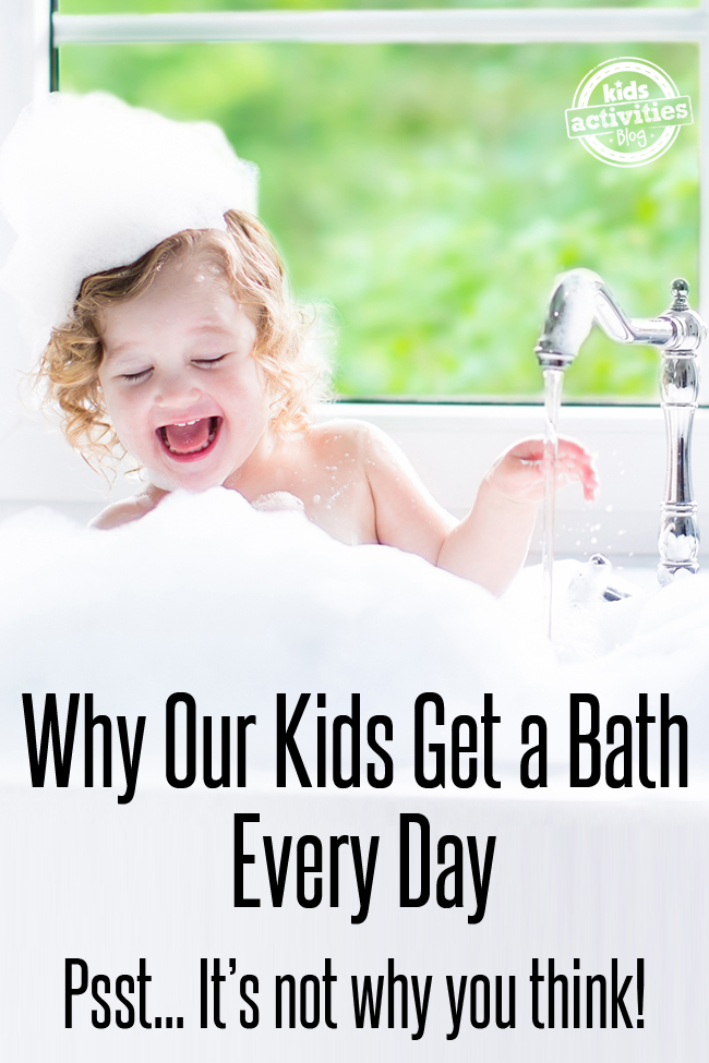 Kids Get a Bath Every Day