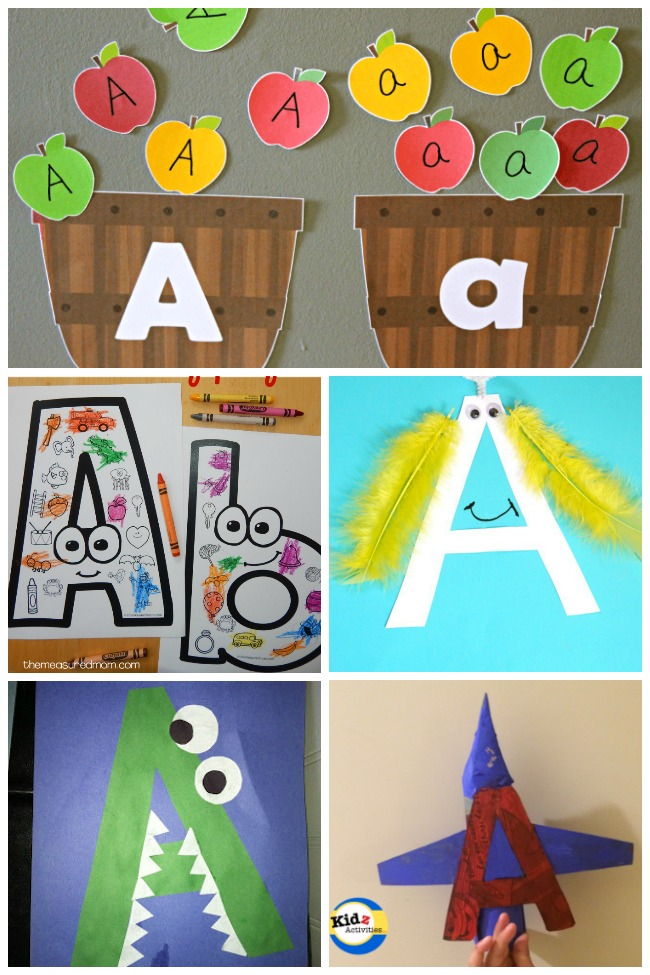 12 Awesome Letter A Crafts & Activities