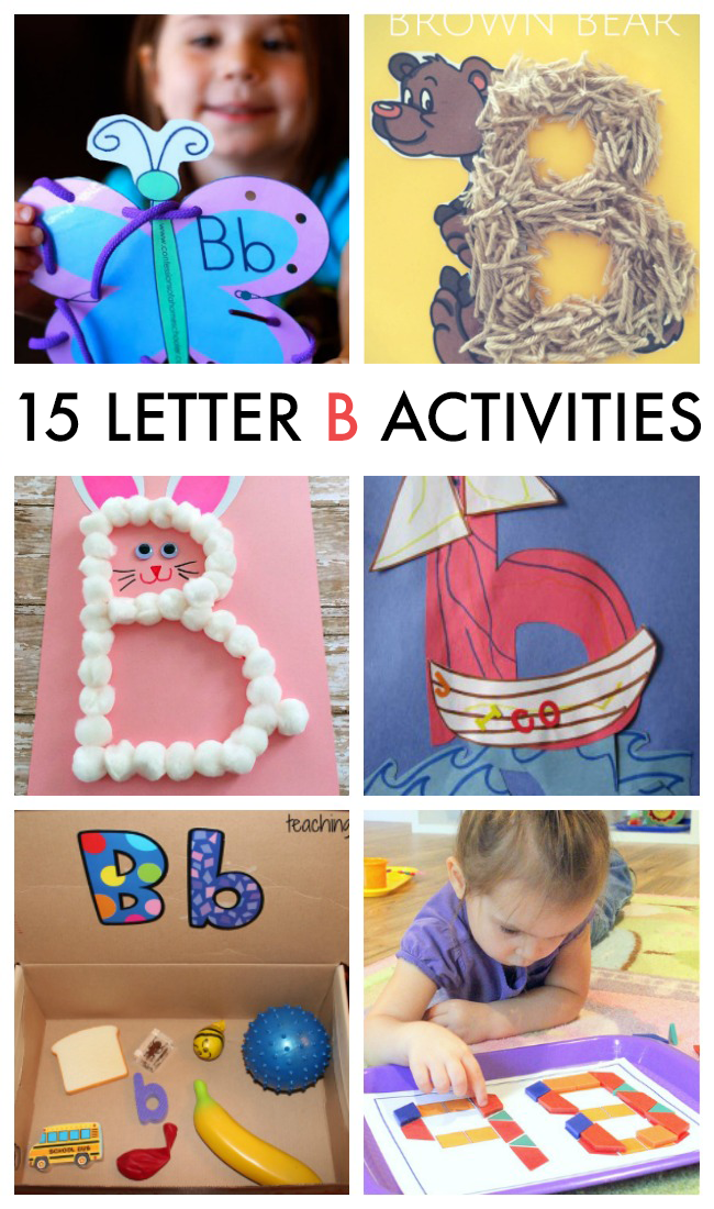 15 Letter B Crafts & Activities
