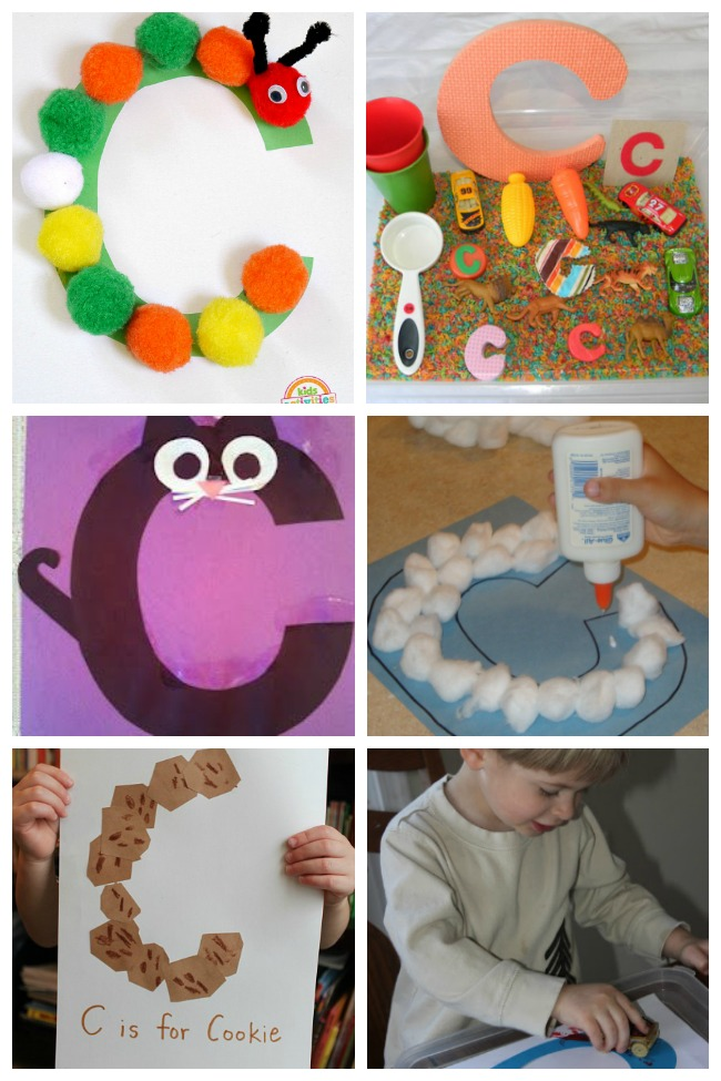 12 Cool Letter C Crafts & Activities