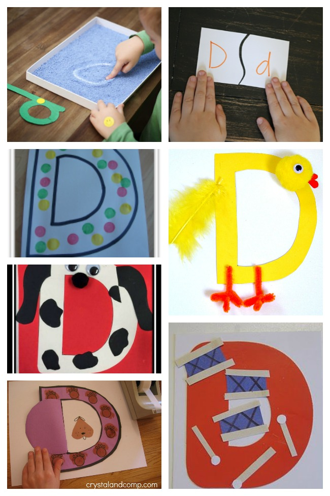 13 Darling Letter D Crafts & Activities