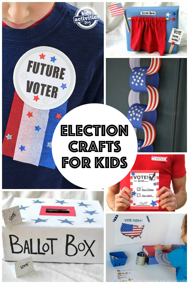 Election Day Crafts for Kids