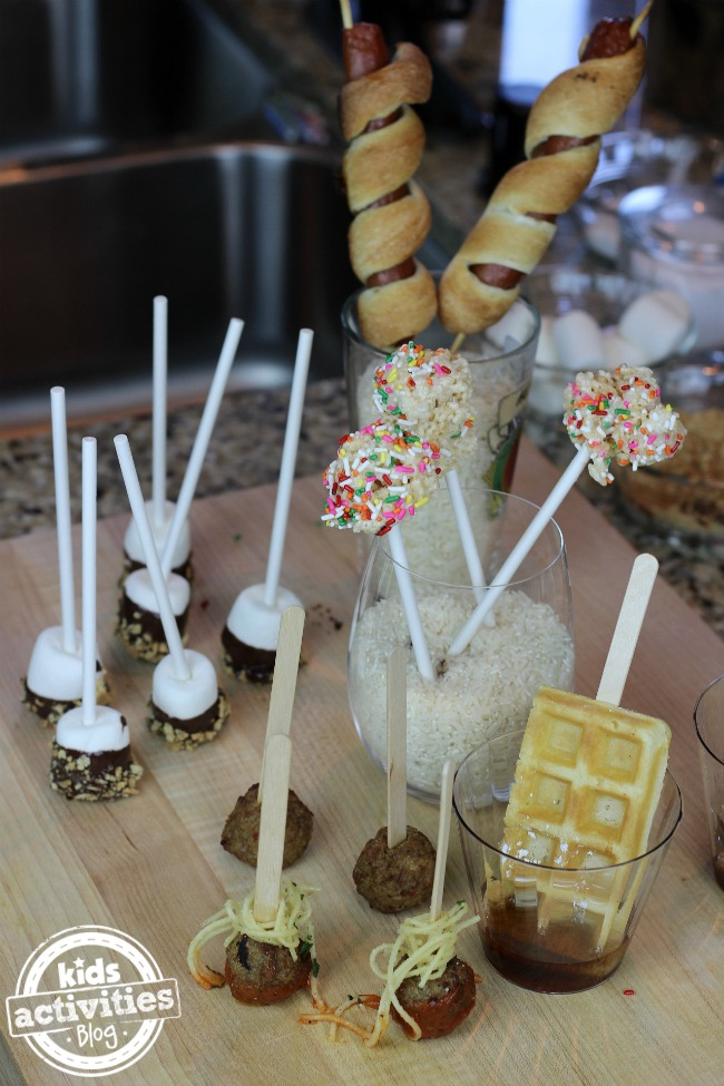 5 Food on a Stick Recipes for Kids