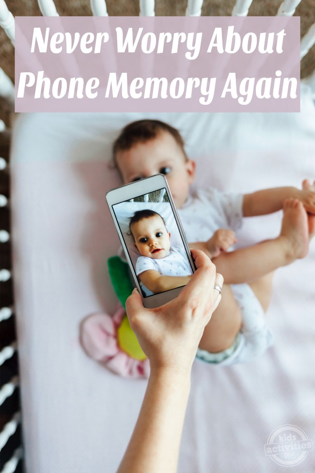 Never Worry About Phone Memory Again