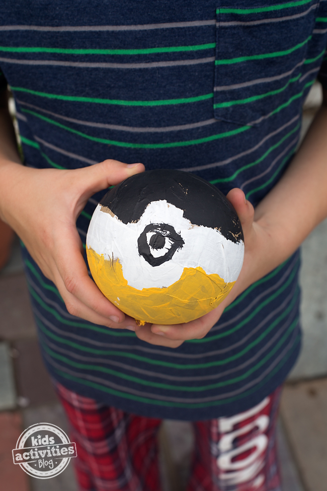 Pokéball Craft for Creative Kids