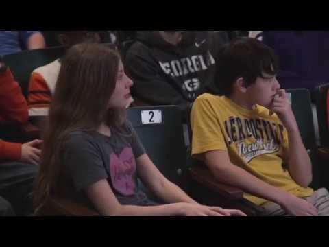 This Former Wrestlers Speech Left An Audience Of Middle Schoolers In Tears…