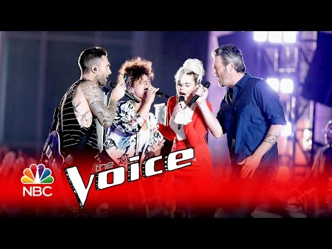 The Voice Judges Brought Down The House Singing 'DREAM ON'!!