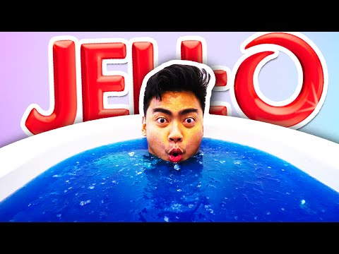 Did You Ever Wonder What It Would Be Like To Take A Bath In Jello?