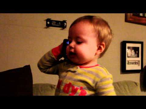 This Little Baby Talking To Dad On The Phone Will Make Your Day Brighter