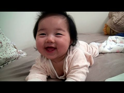 This 6-Month-Old Wakes Up Smiling For The Cutest Reason