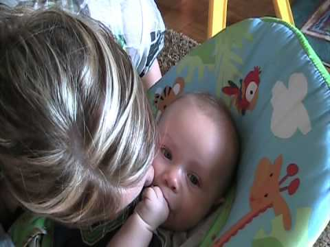 This Little Baby Does The Funniest Thing Every Time Mom Tries To Kiss Him