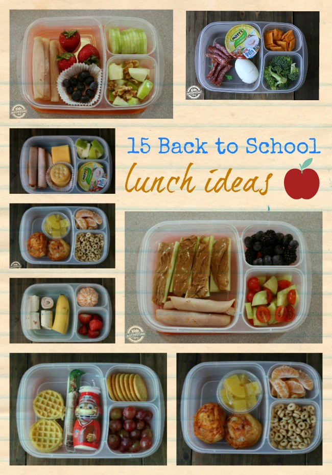 15 Back to School Lunch Ideas