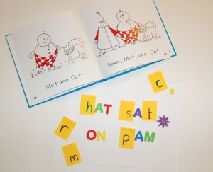 Short A Learning Activity with Bob Books