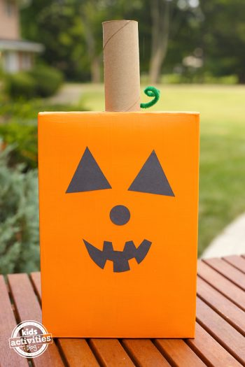 Cereal Box Pumpkin