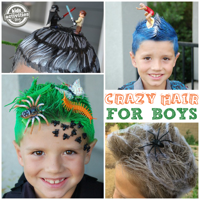 Crazy Hair Ideas for Boys