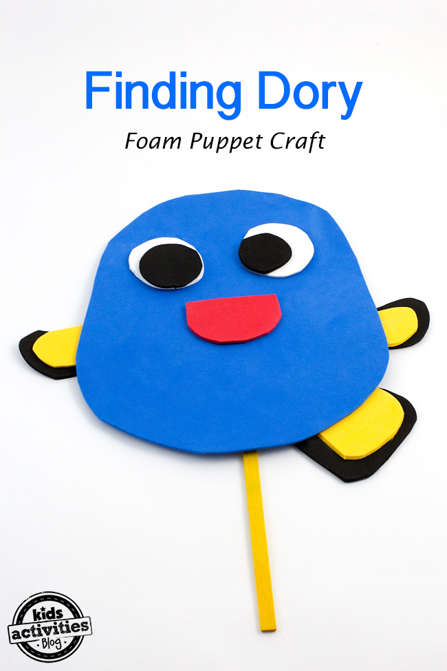 Finding Dory Puppet
