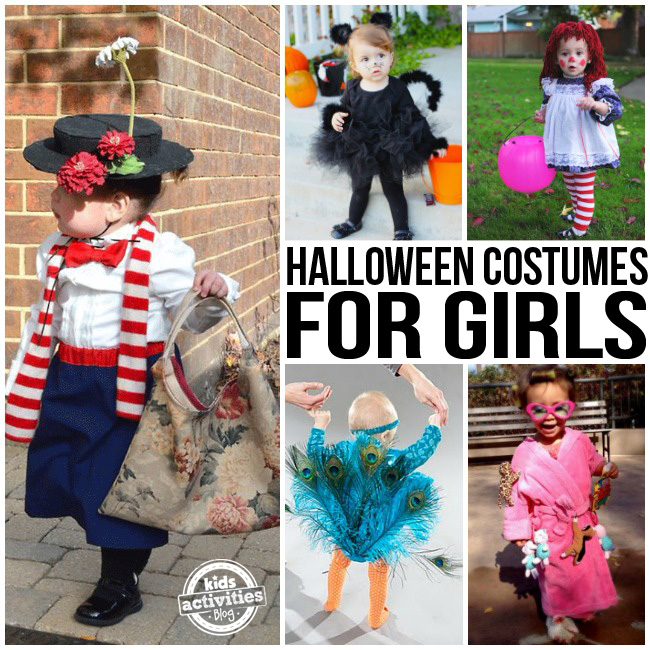 Halloween Costumes for Little Girls