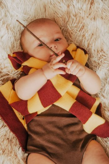 Harry Potter Nursery Video baby dressed as Harry Potter - Kids Activities Blog